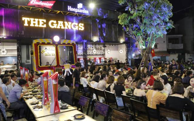 The Gangs - Grill & Beer - Cao Thắng Nối Dài